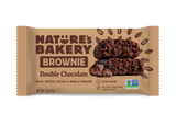 Nature's Bakery Double Chocolate Brownie, Chocolate