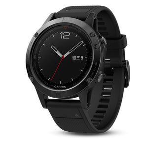 Fenix 5 Black Sapphire with quickfit band(English)