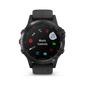 [Demo Unit]Fenix 5 Plus Sapphire DLC Gray with Black Silicone - Chinese