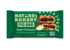 Nature's Bakery Whole Wheat Fig Bar, Apple Cinnamon
