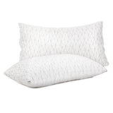 Rayon Memory Foam Pillows - 2 Pack