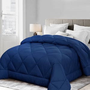 Bamboo Microfibre Quilt in Navy Blue - 700gsm