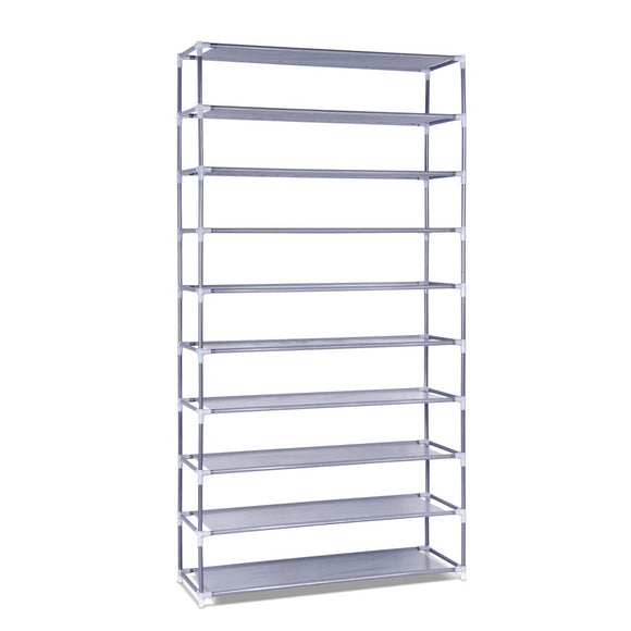 10 Tiers Stackable Shoe Storage Rack ‰ÛÒ 159cm