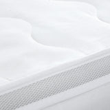 Bamboo and Microfibre Pillowtop Mattress Topper - 1000gsm