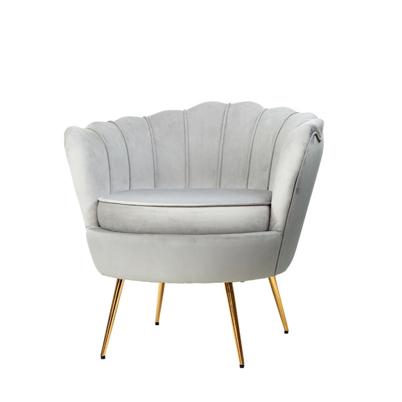 Shell Chair in Grey