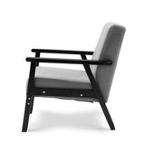 Skane Armchair - Black and Grey