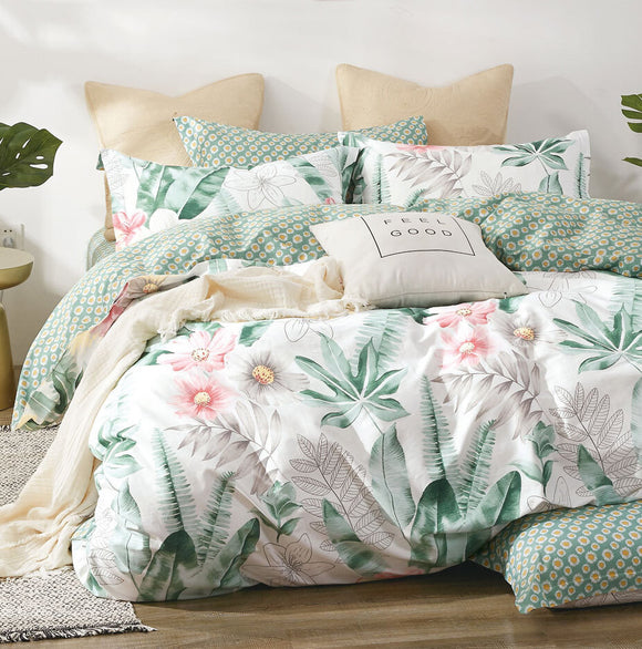 Botanical Quilt Cover Set