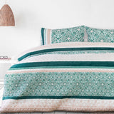 Embossed Spindle Quilt Cover Set