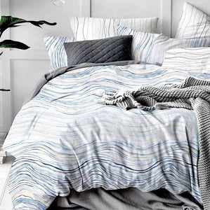 Sway Reversible Quilt Cover Set