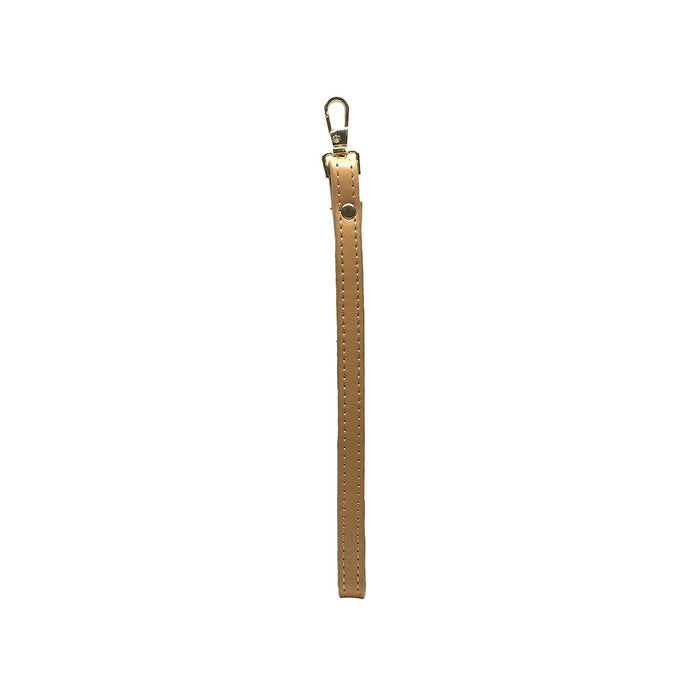 DESSERT TAN - SMOOTH LEATHER - WRIST STRAP