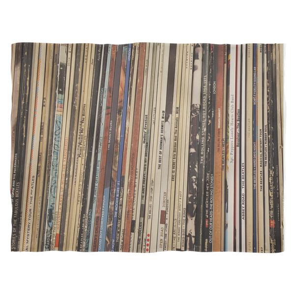 RETRO FLEECE BLANKET, VINYL RECORD ALBUMS, British Invasion