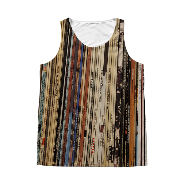 British Invasion Record Album Tank Top - All Over Print