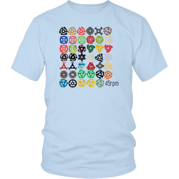 45 rpm Adapter Video Game Retro Style Shirt
