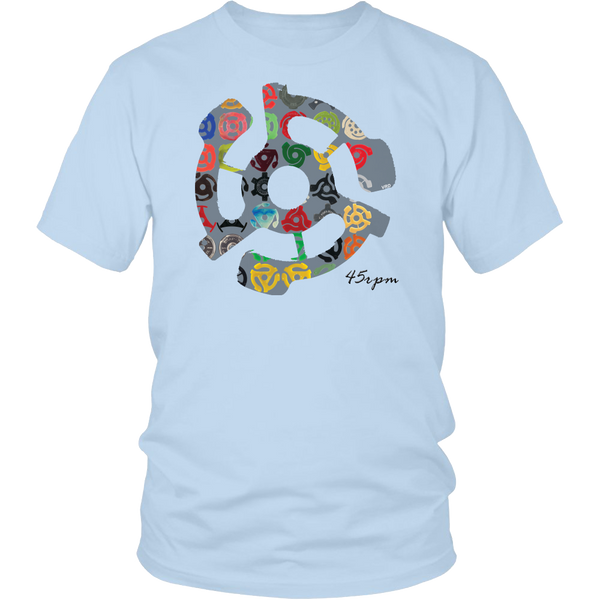 45rpm Adapter Retro Overlay Shirt