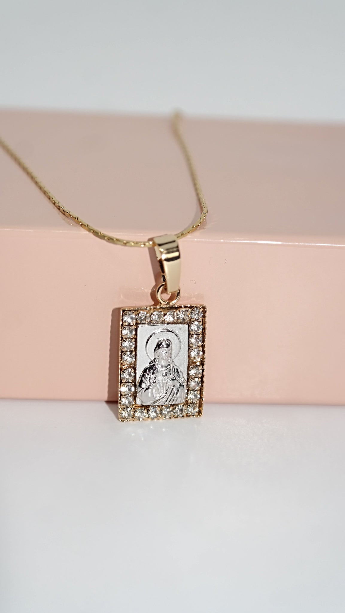 Mini Jesus Necklace