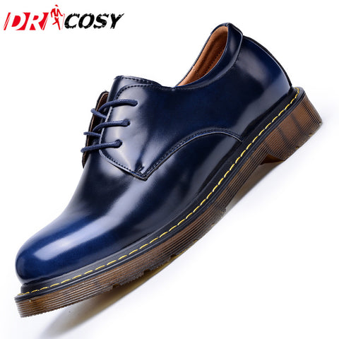 Fashion Casual Genuine Leather Men Oxford Shoes
