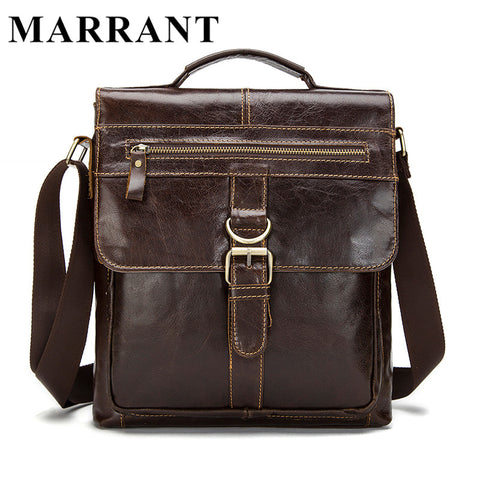 MARRANT Genuine Leather bag Men Bags Fashion Male Messenger Bag
