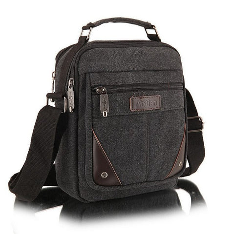 Men's travel bags cool Canvas bag fashion men messenger bags high quality