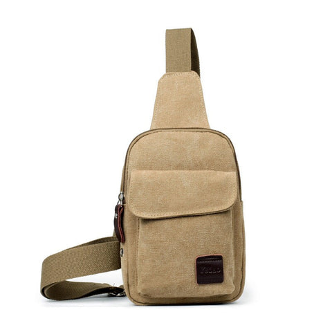 Vintage Men's Canvas Satchel Casual CrossBody Messenger Shoulder Bag