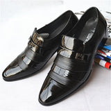 Casual geniune leather oxfords classic male boots