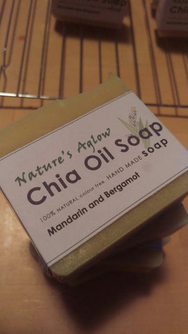 BUY 2 bars for $10 Chia Oil Soap - Lavender and Clary Sage