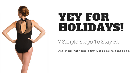 7 simple steps to stay fit in the holidays!