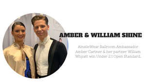 Amber Cartner and her partner William Whyatt Shine at recent WDC AL Championships
