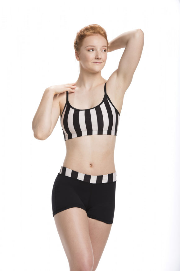 Bra Top with Stripes Print - AW305ST