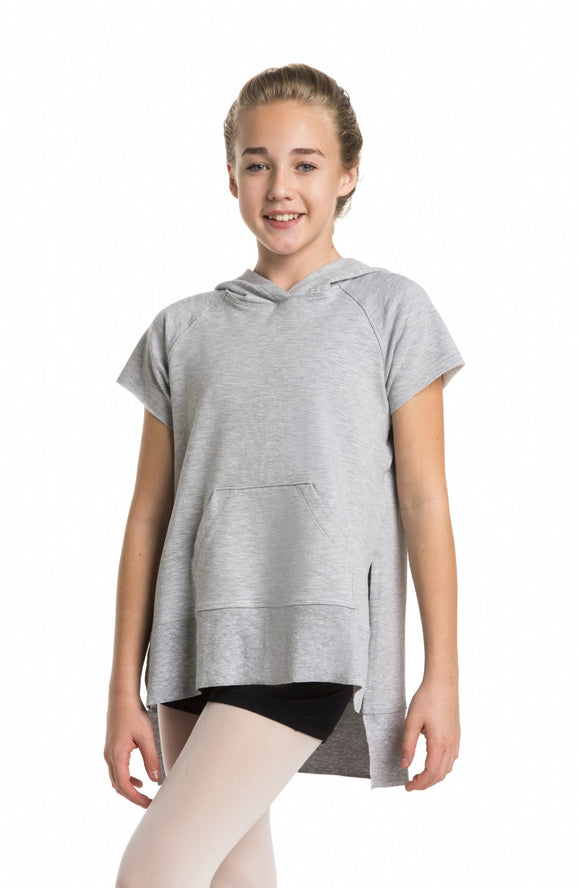Girls Raglan Sleeve Hoodie in Fleece - AW609 G
