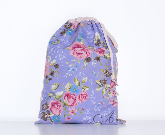 Shoe Bag in Victorian Garden Print - AW902VG