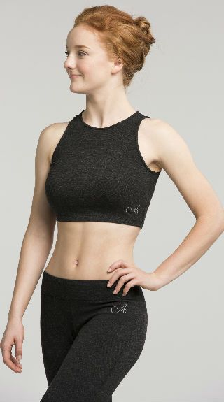 Sleeveless Crop Top in Jersey - AW321