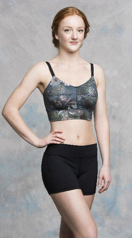 Ditta Bra Top in Winter Fern Print - AW128WF