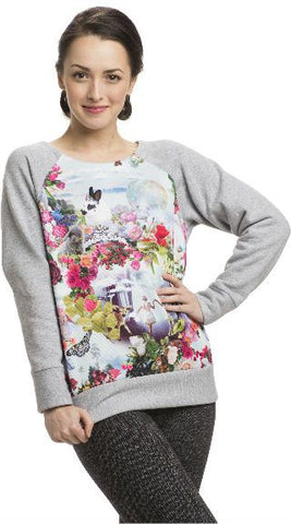 Sweatshirt with Ballet Bunnies - AW330BB