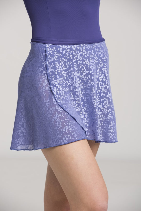 Girls Wrap Skirt Lily of the Valley Lace - AW501LV G