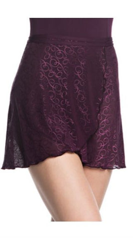 Wrap Skirt in Swirl Lace - AW501SW