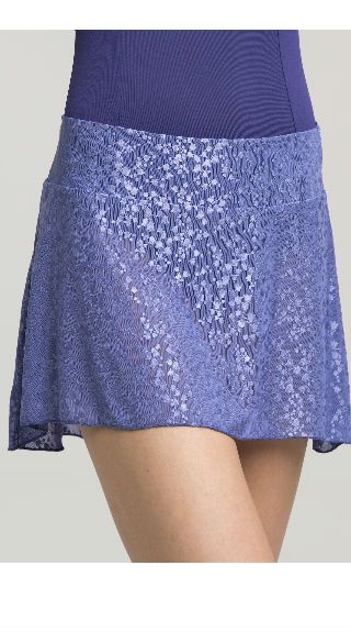 Pull-on Skirt in Lily of the Valley Lace - AW508LV