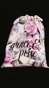 Shoe Bag Soft Floral - Grace & Poise - AW902GP