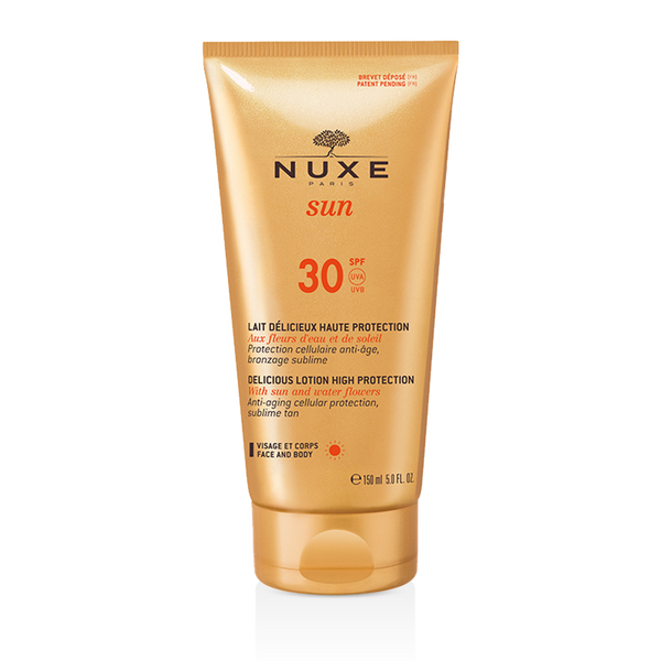Delicious Lotion High Protection for Face and Body SPF 30 NUXE Sun