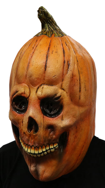 Pumpkin Skull Scary Adult Halloween Latex Mask FS008 - FEARSCAPE STUDIOS HALLOWEEN MASKS