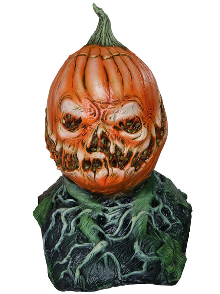 Rotting Jack Pumpkin Scary Adult Halloween Latex Mask FS001 - FEARSCAPE STUDIOS HALLOWEEN MASKS