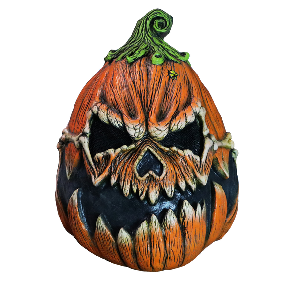 Pumpkin Scary Adult Halloween Latex Mask Pump-Grim FS002 - FEARSCAPE STUDIOS HALLOWEEN MASKS