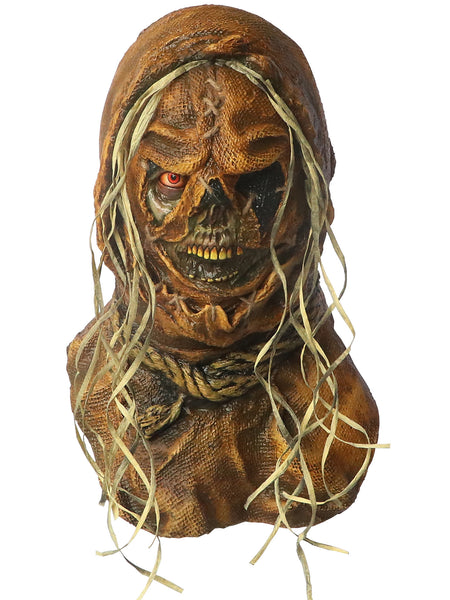 NeCrow Creeper Scarecrow Scary Adult Halloween Latex Mask FS011 - FEARSCAPE STUDIOS HALLOWEEN MASKS