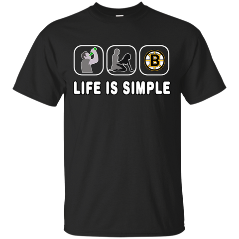 Life Is Simple Boston Bruins