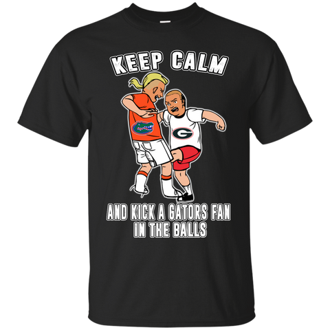 Keep calm and kick a Gator fan in the balls