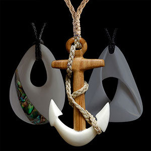 Contemporary bone carving jewelry and necklaces