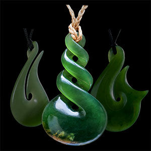 Luke Gardiner - New Zealand jade carvings and necklaces