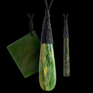 Samuel Potter - Jade carvings and pendants from New Zealand