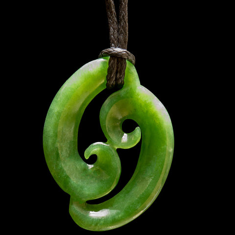 Jade Family Koru (Three Sizes)
