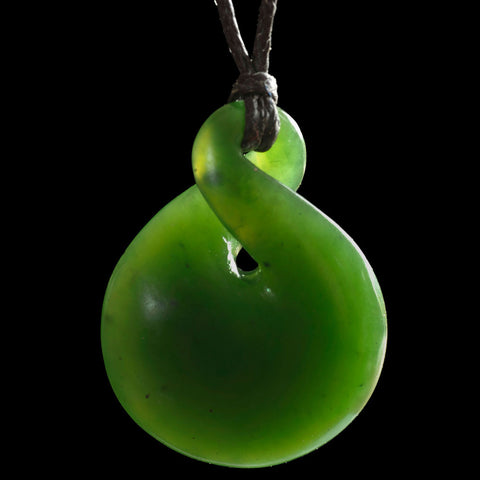 Maori Twist Jade Carving Necklace