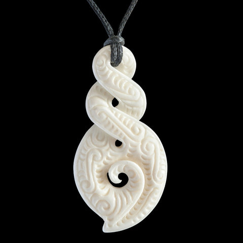 New Zealand Maori Twist Necklace